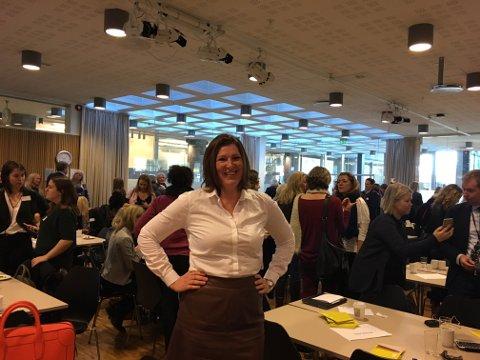 VIKTIG: Anne Gretland fra Rolvsøy havnet onsdag på listen over Norges 50 viktigste IT-kvinner under Abelias kvinnedagsarrangement.