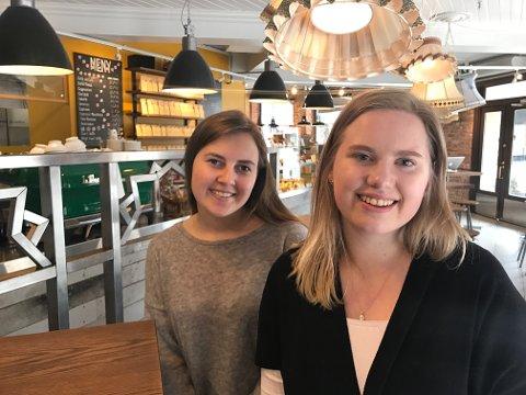 Sanne Hollung Thomsen (t.v) og Nathalie Søderberg Knudsen har jobbet i mange år for å få VG-lista til Fredrikstad.
