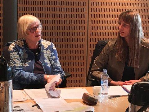 ØNSKER Å UNNGÅ KONFLIKTER: Både Ingrid Willoch (H) og Kristine Høgseth (MDG) mener det er viktig at man har så tydelig regelverk som mulig for å unngå konfliktsituasjoner og at interesser blandes.