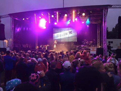 I midten av august går Bruken Rusfrifestival og Bruken Festival på Rolvsøy av stabelen for fjerde år på rad. Bildet er fra et tidligere arrangement.