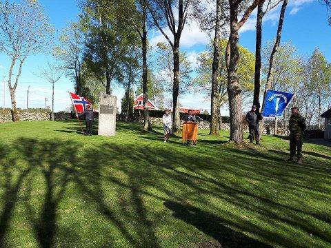 Råde: Også i Råde kommune ble det holdt en høytidelig markering på frigjøringsdagen.