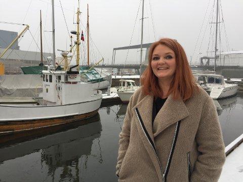Ille glad: Monica Leander er veldig glad for tillegget i revidert statsbudsjett.
