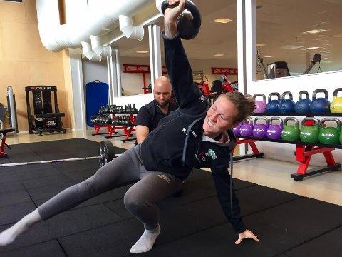 Hjemme: Isabell Herlovsen er hjemme etter oppholdet i Kina. Til uken gjør superspissen comeback på landslaget igjen.