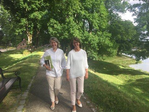 Liv Aker Hjortaas og Bente Thorvaldsen inviterer til «Alternativt Ord i Grenseland» i Gamlebyen fra torsdag i neste uke.
