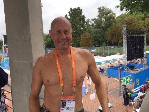 RUTINE: Rune Sjøblom kan se tilbake på et fint opphold i Budapest.