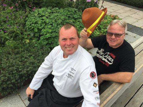 TRADISJON: – Jeg håper det blir fullt hus, målet er at oktoberfesten skal bli en tradisjon, sier Østfold-kokk Arild Karlsen som sammen med Solheim inviterer til tyrolleraften nå på lørdag.