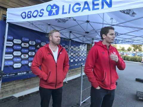 Ser lyst på det: Styreleder Jostein Lunde klamrer seg til håpet om at FFK fortsetter poengfangsten på hjemmebane og at man berger plassen til slutt. (Foto: Vidar Henriksen)