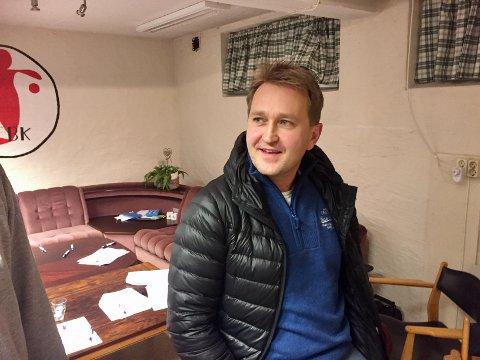 SAMLENDE Håvard Magnussen er FBKs nye leder som håper å samle klubben.
