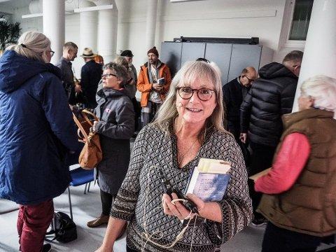 Litt hjelp: Torill Stokkan og litteraturfestivalen i Sarpsborg fikk 45.000 kroner i støtte fra fylket. Det var restmidler  fra kulturproduksjonspotten.