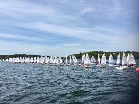 Håper på stor deltagelse: Fredrikstad Seilforening håper på opp mot 200 båter i neste års NM i Optimist. (alle foto: Privat)