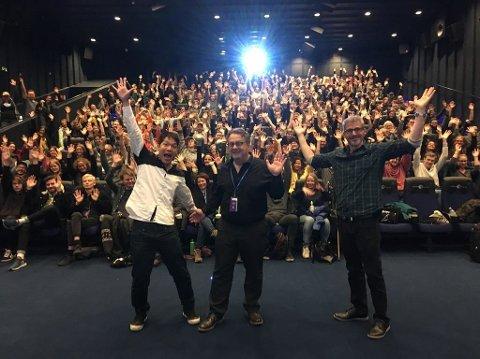 Fredrikstad Animation Festival var en stor suksess når den ble holdt i oktober. Festivalleder Anders Narverud Moen er bekymret for prioritering av Østfold mange festivaler i den nye fylkeskommunen Viken.