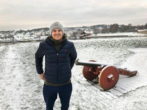 PÅ HJEMMEBANE: Tarik Elyounoussi har lagt et godt fotballår bak seg. Nå ser han frem til 2019, hvor han har et håp om at AIK skal prestere i Europa.