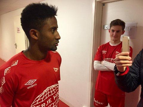 Ikke i mål: Anas Farahs kontrakt med FFK går ut i mars. Midtbanetalentet har fortsatt ikke kommet til enighet med klubben om en ny kontrakt., (Foto: Henrik Myhrvold Simensen)