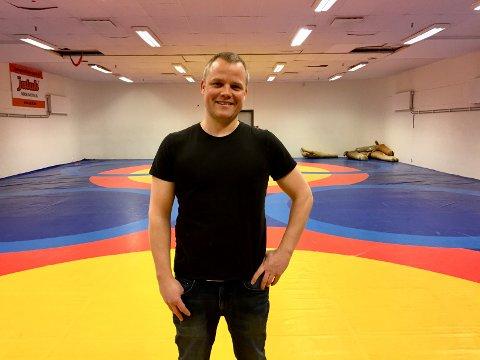 NYE TIDER: Klas Pettersen mener det er gode forhold for Grace Bullen og andre som driver toppidrett i Fredrikstad nå.