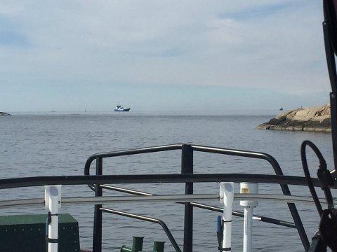 – LENGE SIDEN: Flott vær på sjøen på Langfredag, melder mannskapet på redningsskøyta Horn Rescue. Bildet er tatt ved Humlungen, sør for Skjærhalden.