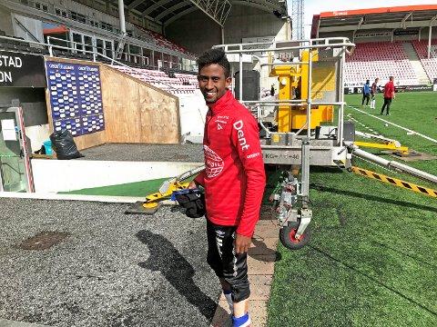 GRORUD NESTE: Anas Farah Ali lånes ut til Grorud i avdeling to i Postnord. Avtalen går ut året, men FFK kan hente ham tilbake i sommer.