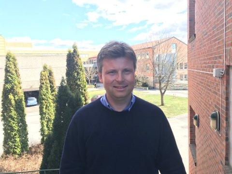 Sjef. Pål André Ramberg er tilsatt som ny rektor ved Glemmen videregående skole.