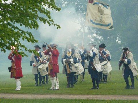 Det er ikke sikkert at de norske soldatene – her støttet av dansker – klarer å holde stand mot de mange svenskene i år.