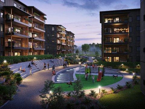 «For høyt»: Naboer mener at blokkene på Sorgenfri blir for høye, etter at bystyret sa ja til fire-fem etasjer.