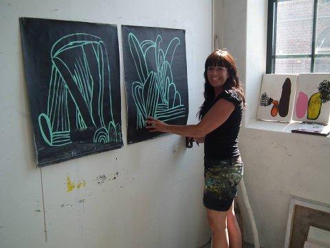 Tok seg videre til 2. juryering: Kristin Romberg Jensens prosjekt «Frodig» er en hyllest til miljøet. Nå gleder hun seg over avansementet.