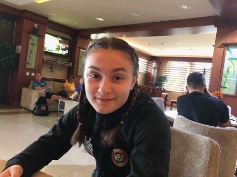 KLAR: Othelie Anette Høie (17) skal representere Norge under European Youth Olympic Festival.