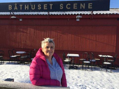 FORNØYD: Daglig leder Agnethe Fagerås er fornøyd med at både tallene og været har blitt bedre.