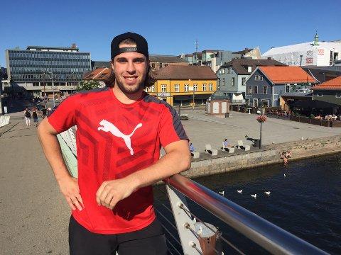 NY OG LETTERE: Jesper Nipe har fått beskjed om gå ned sju kilo før neste sesong, fra 93 til 86 kilo. Han er allerede godt på vei.