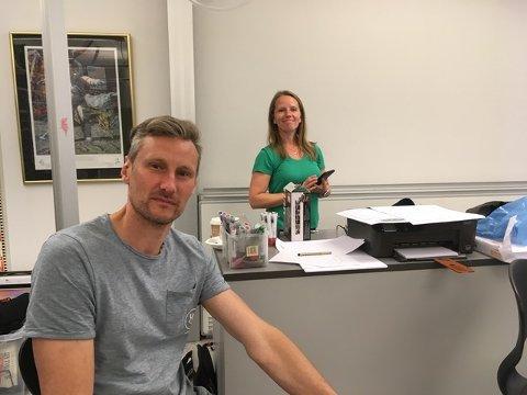 Kursholdere: Jonas Bjerketvedt gir en inføring i lyddesign, mens Gitte Ous er animasjonsinstruktør