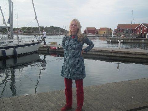 REAGERER. Mona Vauger reagerer på kritikken fra en av Frps kommunestyrerepresentanter, Ole-Johan Pettersen