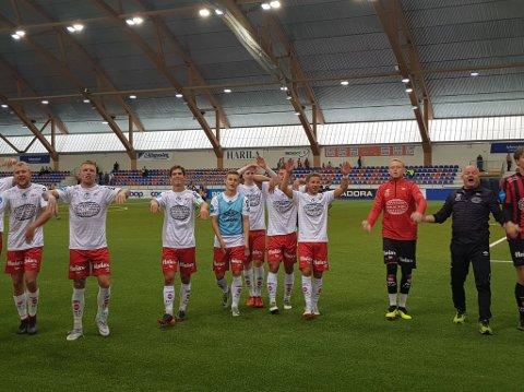 FFK-spillerne kunne juble for tre poeng etter en bunnsolid bortekamp mot Alta.