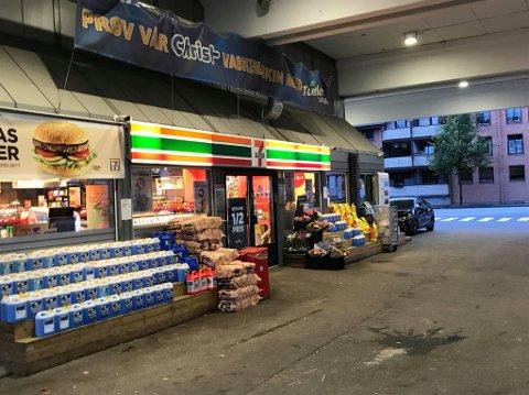 Shell 7-Eleven i St. Croix-krysset. (Foto: Kristian Bolstad)