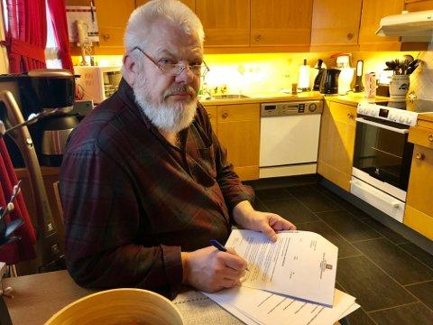 ENGASJERT: Lars Lund har engasjert seg i donorsaken. Han mener det bør være like enkelt å registrere et nei som et ja, og at de pårørende bør slippe involvering.