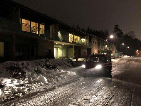 Brannen var i Blå Kors-boligene i Ilaveien.