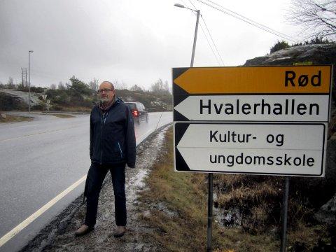 – På krigsstien: Wiggo Sørlien og hans tidligere parti Frp tok opp fartsproblematikken i 2016. Han er mildt sagt lite fornøyd med at saken står på stedet hvil.