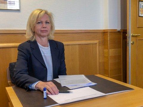BEGJÆRTE KONKURS: Monica Nymark Lilleng fra kemneren opplyste i retten at forfalte krav mot Cewex Eiendom AS er på 261.000 kroner.