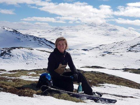 Fjellet gir ro: - Vann og fjell gir meg ro. Noen ganger trenger jeg å ha det stille, andre ganger kan jeg høre musikk når jeg er alene, sier Sabina-Marika Widenqvist.