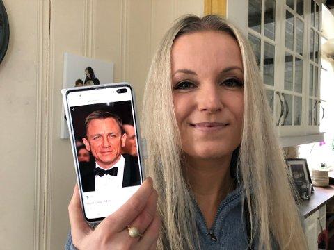 BOND: Hege Kolkinn kan ikke bekrefte eller avkrefte om hun jobbet sammen med Daniel Craig på filminnspillingen i Nittedal sist uke.