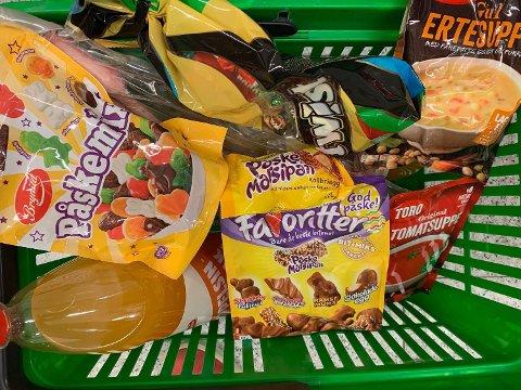 TILBUD: Disse varene blir billigere i dag. Foto: Halvor Ripegutu