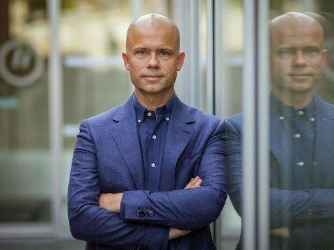 Ny rektor: Lars-Petter Jelsness-Jørgensen er valgt som ny rektor etter Hans Blom.
