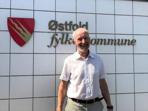 SVANESANG: Avtroppende fylkesordfører Ole Haabeth stiller ikke til gjenvalg i Viken, men var glad for at fylkesutvalget stemte for tilskudd til drift av fotball i Østfoldhallen.