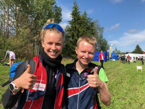 Kamilla Olaussen (t.v.) og Marianne Andersen