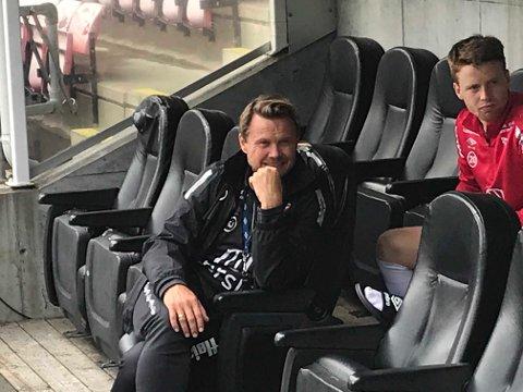 """GLEDER SEG: Bjørn """"Bummen"""" Johansen ser frem til søndagens kamp på Jæren."""