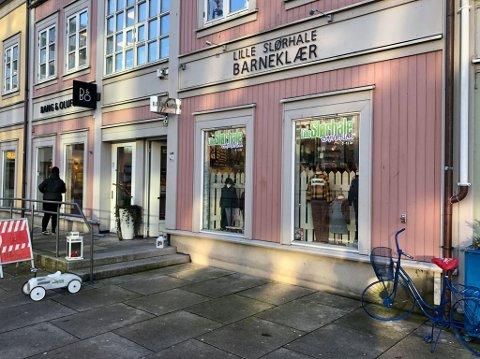 SLUTT: Etter tre og et halvt år på Stortorvet har eierne besluttet å legge ned butikken.