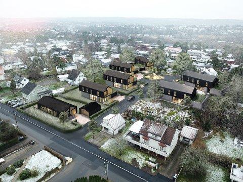 Disse boligene fikk ben å gå på da de ble lagt ut for salg på torsdag: Etter fire timer var fire av sju boliger solgt.