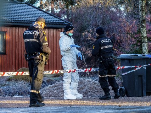 Den 35 år gamle syreren som drepte sin egen kone i familiens hjem på Borgenhaugen i romjula for snart to år siden, er dømt til 19 års fengsel-