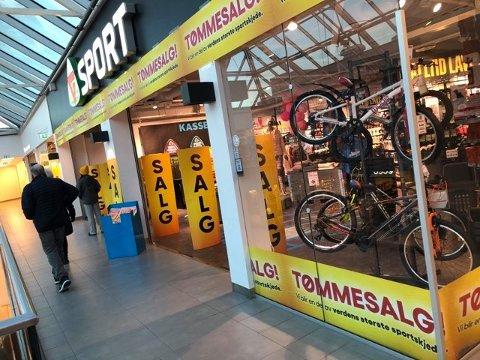 REDDET: G-Sport Torvbyen er reddet – men planen er fortsatt at butikken skal bli til Intersport.