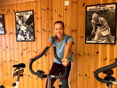 """SPENT: Nora Wold skal til fredag delta på 400 meter flatt under """"Karsten Warholm International"""""""