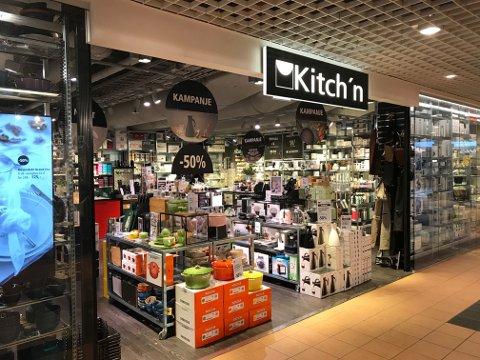 STNGT: Kitchn stenger midlertidig alle sine butikker, inkludert de i Torvbyen og Østføldhallen.