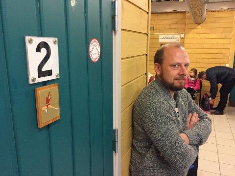 FRA KUNSTLØP TIL FRID: Jon-Erik Bergh var leder for Fredrikstad kunstløpklubb i sju år. Etter ett år som styremedlem i FRID, blir han nå leder.