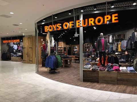 Boys of Europe-butikkene i Østfoldhallene og Torvbyen er blant de som åpner igjen etter å ha holdt koronastengt.